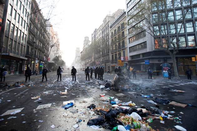 Spain Is On The Bleeding Edge Of A New European Crisis