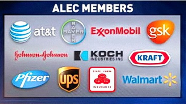 ALEC Blasts 'Intimidation Campaign' Against Its Corporate Members