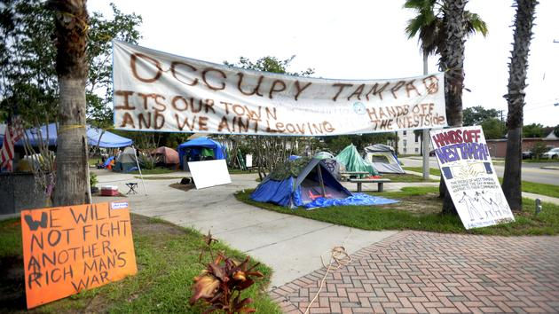 TAMPA ? Nude dance club owner Joe Redner is telling Occupy Tampa to clear ...